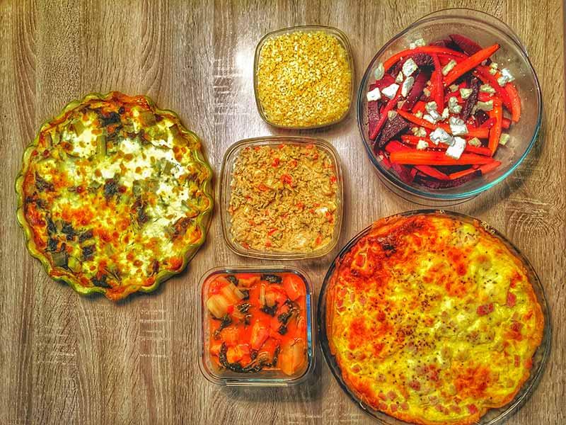 Batch cooking - Les repas de Sarah